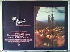 Cinema Poster: LADY CHATTERLEY'S LOVER 1981 (Quad) Sylvia Kristel