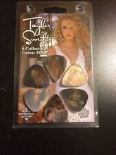 TAYLOR SWIFT 3-D COLLECTIBLE GUITAR PICK SET OF 6 BRAND NEW! RARE!