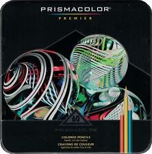 Prismacolor Premier Colored Pencils - Metal Tin Gift Set - 60 Color Set