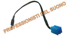 CAVO AUX-IN  Mini ISO BLU - jack 3,5 mm - LANCIA Y