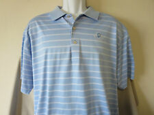 FRIENDLY HILLS COUNTRY GOLF CLUB Polo Shirt Peter Millar Whittier Blue Size XL
