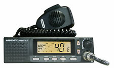 CB Radio mobile 2 Presidente Johnson II ASC MULTISTANDARD AM FM Altoparlante Anteriore