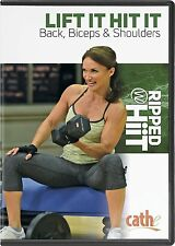 Cathe Friedrich RIPPED WITH HIIT Lift It Hit It Back, Biceps and Shoulders DVD