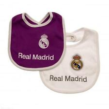 Real Madrid Fc 2 Pack Baby Bibs PL Football Kit