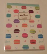 Hallmark Design Collection Macaroon Macarons Large Memo Pad Stationery Kawaii