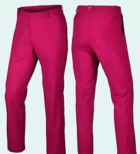 NWT Nike Golf Modern Tech Slim Fit Dri Fit Stay Cool Pants- Fushia- 32x30, $85+