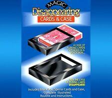 Vanishing/Disappearing Deck-Cards & Box-Close-Up/Street Magic Trick Illusion