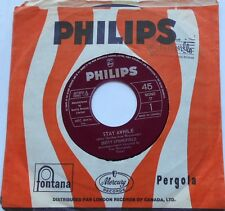 DUSTY SPRINGFIELD Stay awhile /Something special NM- CANADA ORIG 1964 PHILIPS 45