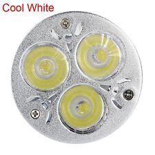 1/10pcs E27 GU10 MR16 Dimmable 9W Cool/ Warm White LED Lamp Spot Light Bulb