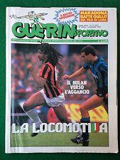 GUERIN SPORTIVO 1988 n 17 , Poster EMPOLI + FILM DEL CAMPIONATO , COPPE EUROPEE