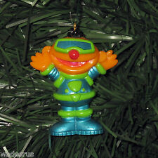 Ernie Blue/Green Outfit Suit - Custom Christmas Tree Ornament Sesame Street