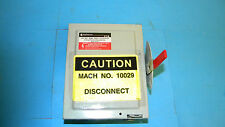 Eaton Powermaster G221SNK Safety Switch 30Amp 3Pole 240Volt