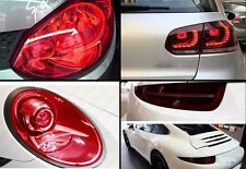 "16""X48"" Red Protect Headlight Taillight Clear  Vinyl Tint Light Film Wrap Sheet"