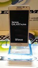 SAMSUNG GALAXY ALPHA G850F LTE 32GB  BLANCO USADO GRADO A LIBRE PERFECTO ESTADO