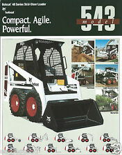 Equipment Brochure - Melroe - Bobcat - 543 - Skid-Steer Loader - c1991 (E2949)