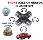 FOR MITSUBISHI L200 2.5 DiD 2006- FRONT AXLE / GEARBOX UJ UNIVERSAL JOINT KIT