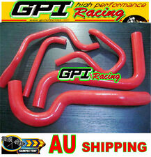 HOLDEN COMMODORE VS 3.8L V6 SILICONE RADIATOR HEATER HOSE 1995-1997 1996 RED