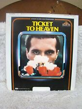 CED VideoDisc 1981 Ticket to Heaven MGM United Artists Entertainment, Collectble