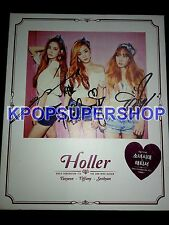 Girls' Generation Taetiseo Mini Album Vol. 2 Holler Autographed Signed Promo CD