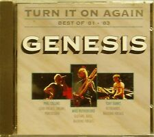 GENESIS 'TURN IT ON AGAIN BEST OF 81-83' 13-TRACK CD RARE VERTIGO