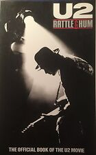 U2 Rattle & Hum Soft Cover Book VGC