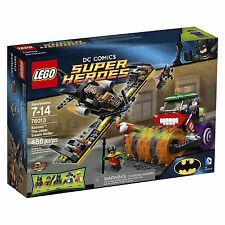 76013 THE JOKER STEAM ROLLER lego NEW dc super heroes BATMAN BATGIRL ROBIN plane
