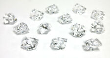 Vase Fillers: Clear Acrylic Ice Rocks, Wedding Party Floral, 10 bags (1 lbs/bag)