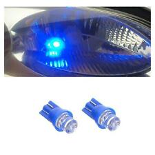 BLUE SINGLE LED SIDELIGHT BULBS 1 X PAIR 501 W5W T10 UK SELLER QUICK DISPATCH