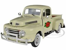 1949 FORD F-1 TOMATO DELIVERY PICKUP TRUCK CREAM 1:32 BY SIGNATURE MODELS 32388