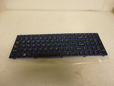 New Lenovo English Keyboard 25013195 IdeaPad B570 B575 V570 Z570 T4TQ-US Blue