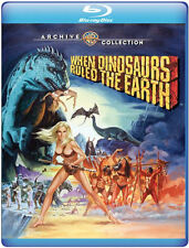WHEN DINOSAURS RULED THE EARTH (1970)  - BLU RAY - Region free - Sealed