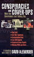 Conspiracies and Cover-Ups-ExLibrary