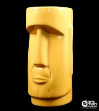 The Donald Moai Tiki God Mug Yellow Gold President Trump Bar Lounge Polynesian
