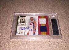 Blake Griffin 2009-10 National Treasures NBA Playoff Game Gear RC BGS 9 AUTO 10