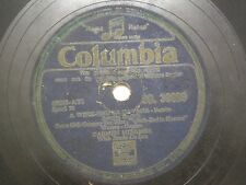 "CARMEN MIRANDA WITH BANDO DA LUA DB 30099 INDIA INDIAN RARE 78 RPM RECORD 10"" VG"
