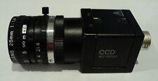 Sony CCD XC-ES30,TV Lens 25mm 1:1.4 with Hitron HES20-11 power supply #38752
