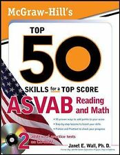 McGraw-Hill's Top 50 Skills For A Top Score: ASVAB Reading and Math with CD-ROM