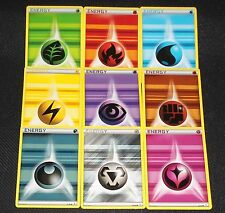 90x Basic Energy Lot XY GENERATIONS (10 of EACH Type ) NM+ Pokemon Cards