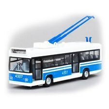 *TEHNOPARK* Trolley Trolleybus Moscow Russia Model Toy with Light and Sound