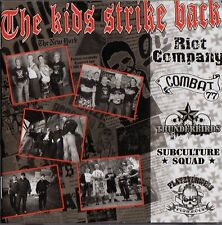 V/A - THE KIDS STRIKE BACK CD (OI-PUNK) PLATZVERWEIS, COMBAT 77, RIOT COMPANY