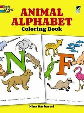 Animal Alphabet Coloring Book Dover Coloring Books