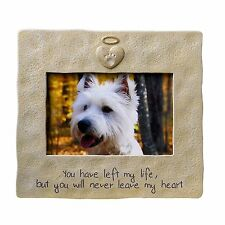 GRASSLANDS ROAD PET DOG CAT BEREAVEMENT MEMORIAL PICTURE FRAME FOR 4X6 PHOTO NIB
