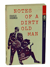 CHARLES BUKOWSKI ~ Notes of Dirty Old Man ~ First Edition 1969 ~ 1st Essex House