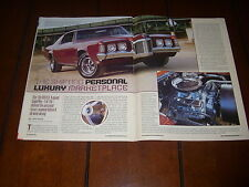 1968 PONTIAC GRAND PRIX ***ORIGINAL 2004 ARTICLE***