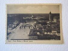 Cartolina Locale 1939 Emilia Romagna Carpi Porta Modena Mercato Coperto
