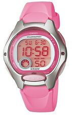 Casio LW200-4B Women's Pink Resin Band Alarm Chronograph Digital Sports Watch
