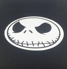 Skeleton Jack Vinyl Sticker - skull face gothic goth nmbc