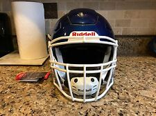 Riddell Revo SPEED FLEX Football Helmet Metallic Royal Blue Facemask Adult Large