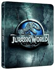 Jurassic World Limited Edition Steelbook Blu-Ray Region Free