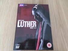 LUTHER DVD BOX SET SERIES 1 & 2 WATCHED ONCE FREE POST